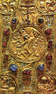 Евангелие в драгоценном окладе. 1571 г.