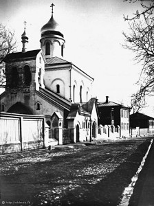 Храм старообрядческой Остоженской общины: первые фотографии. Автор  Э. В. Готье-Дюфайе, 1912 г.