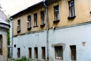 Дом причта в 1998 г.