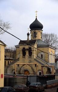 Храм старообрядческой Остоженской общины в 2000 г.