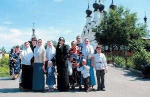 Поездка ксвятым мощамсв. чудотворцев Петра иФевронии, г. Муром, 8июля 2008г.