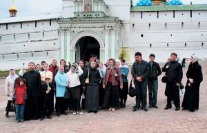 Посещение Троице-Сергиевой Лавры, 1октября 2006г.