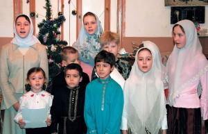 Рождественский концерт вхраме, 2007г.
