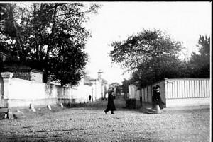 Храм старообрядческой Остоженской общины: вид с ул. Остоженка