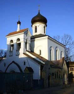 Храм старообрядческой Остоженской общины: внешний ремонт