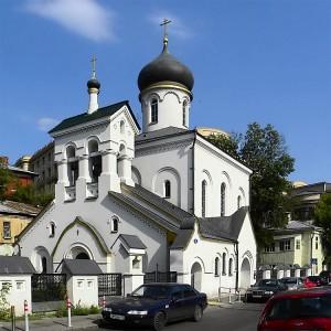 Храм старообрядческой Остоженской общины: современный вид