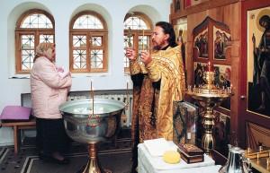 Крещение вхраме