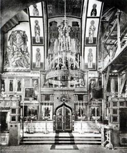 Храм старообрядческой Остоженской общины: внутренний облик