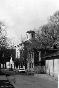 Храм старообрядческой Остоженской общины: 1987 г.