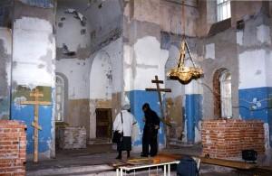 Храм старообрядческой Остоженской общины: ремонт