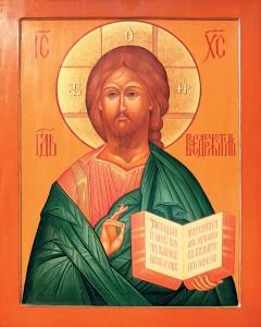 Икона Спасителя храма Остоженской старообрядческой общины