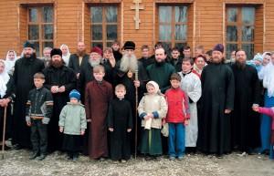 Посещение с. Давыдово наПасху, 1мая 2007г.