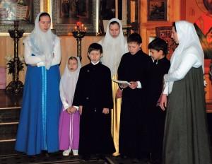 Рождественский концерт вхраме, 2008г.