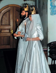 Венчание вхраме, 31августа 2008г.