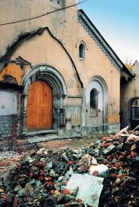 Внешний вид храма до ремонта