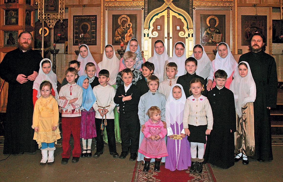 Воскресная школа Остоженской старообрядческой общины