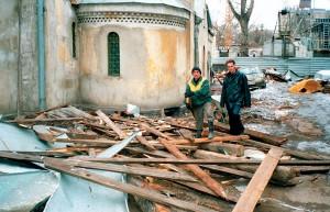Восстановление храма: разбор завалов