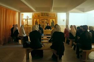На занятии воскресной школы Остоженской старообрядческой общины