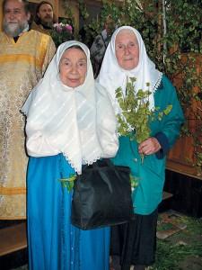 Зиновия Дмитриевна Кириллова иАнна Андреевна Абанина
