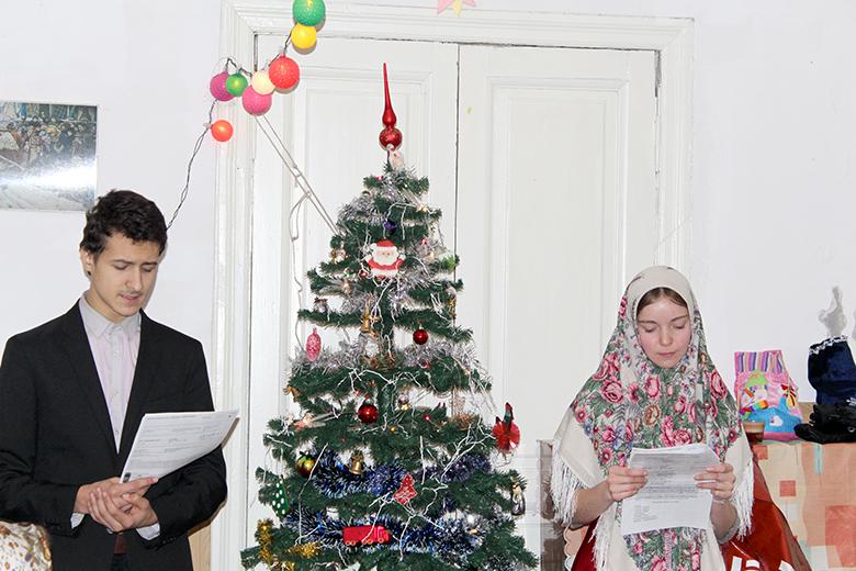 Детский Рождественский праздник на Остоженке