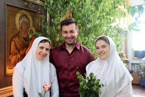 Праздник святой Троицы в старообрядческом храме на Остоженке 19 июня 2016 г.