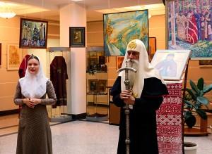 Открытие выставки старообрядческой художницы Софьи Волковой на Рогожском