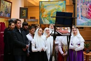 2. Выступление хора Московского старообрядческого духовного училища под руководством матушки Анны Савельевой