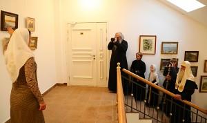 Специальный просмотр экспозиции в сопровождении автора