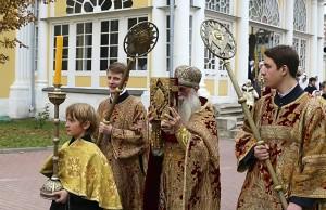 Престольный праздник на Рогожском 14 октября 2016 г. — Покров Пресвятыя Богородицы