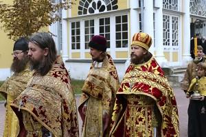 о. Сергий Лисуренко на престольном празднике христиан Рогожской общины